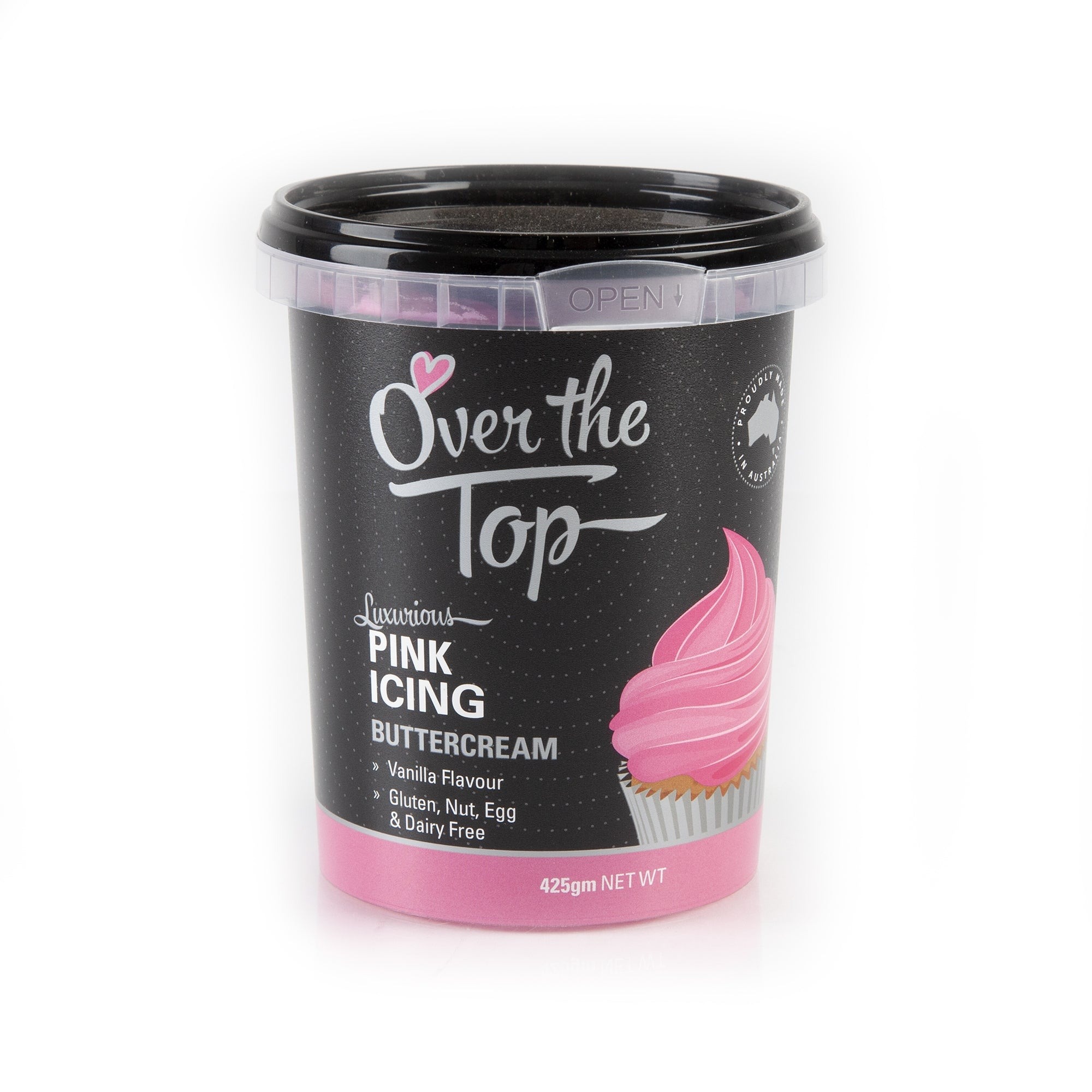 OVER THE TOP PINK BUTTERCREAM 425G
