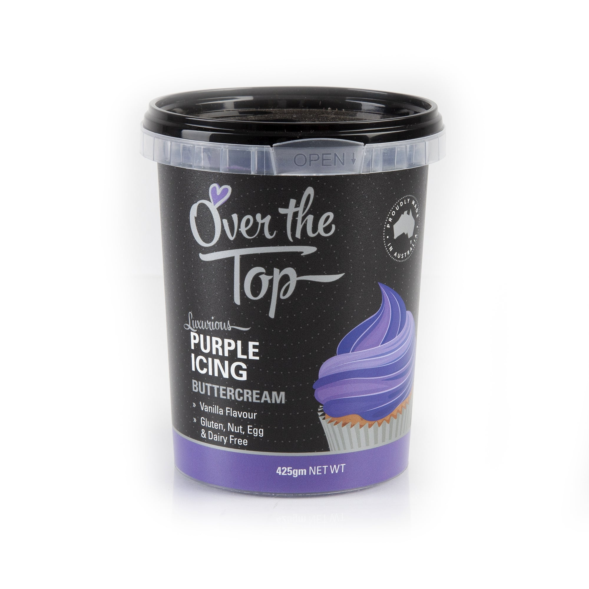 OVER THE TOP PURPLE BUTTERCREAM 425G