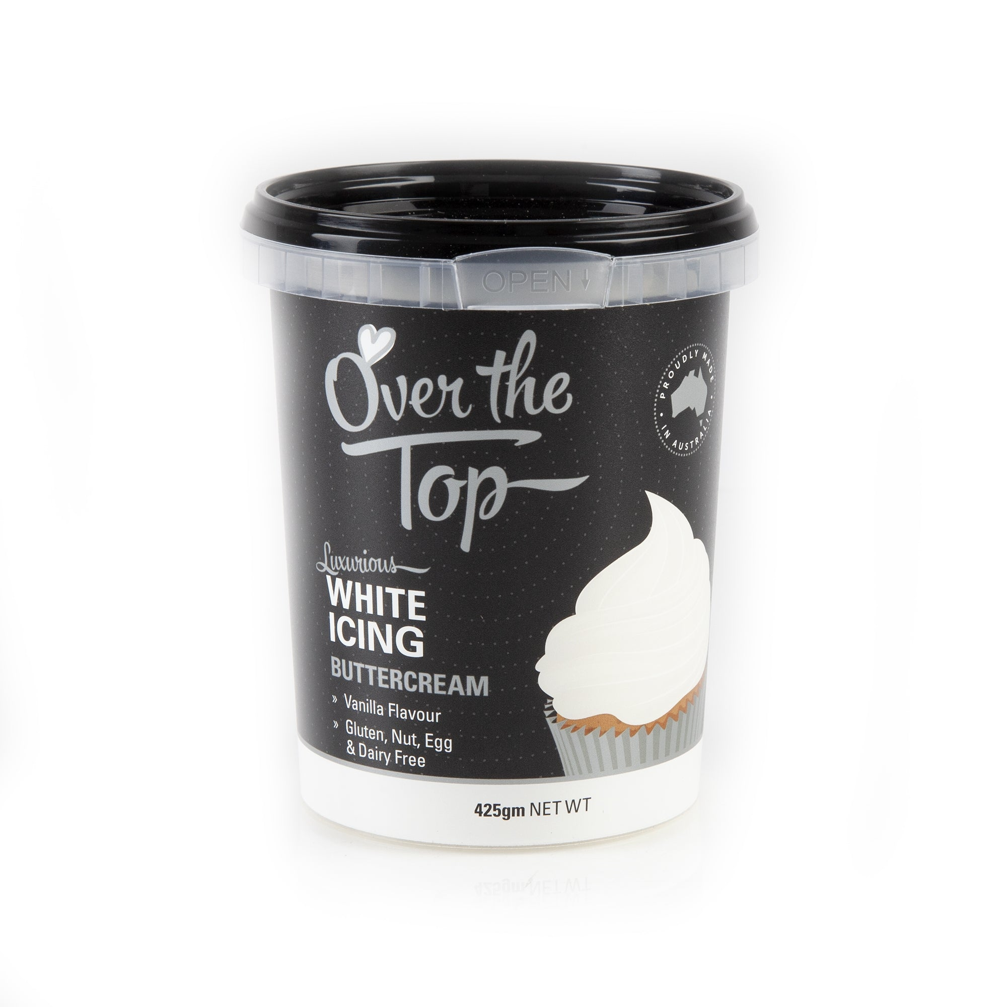 OVER THE TOP WHITE BUTTERCREAM 425G