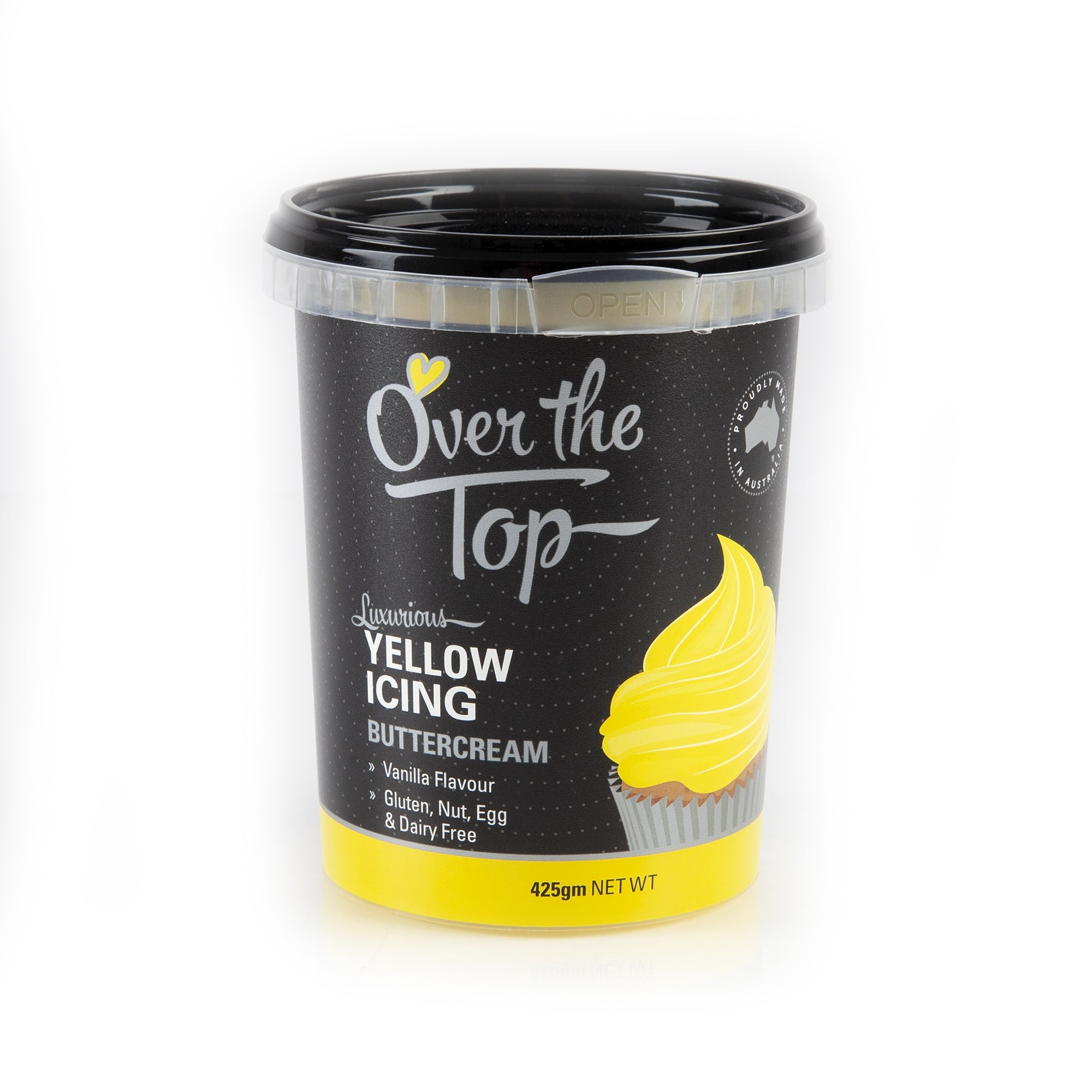 OVER THE TOP YELLOW BUTTERCREAM 425G
