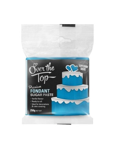 OVER THE TOP ICE BLUE 250G PREMIUM FONDANT