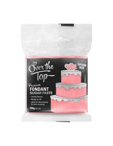 OVER THE TOP ROSE PINK 250G PREMIUM FONDANT