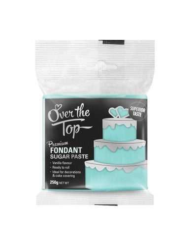 OVER THE TOP SKY BLUE 250G PREMIUM FONDANT