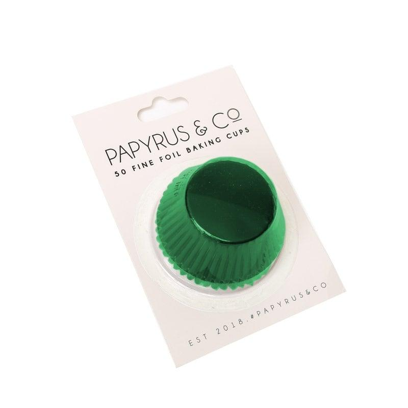Baking Cups Medium GREEN