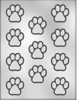 Chocolate Mould PAW PRINT