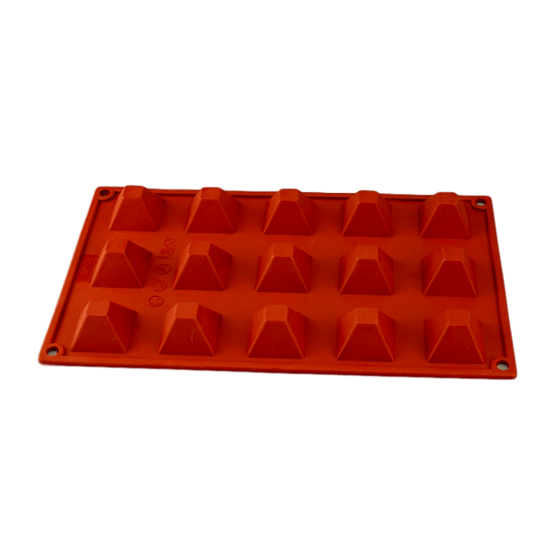 PYRAMID 35mm chocolate mould 15 cavity