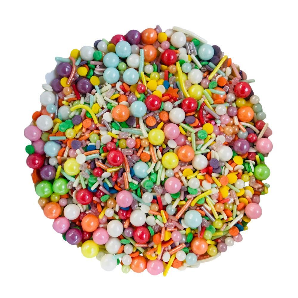 RAINBOW BRIGHT 100g Sprinkle Mix