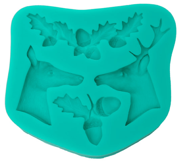 Silicone Mould REINDEER CHRISTMAS