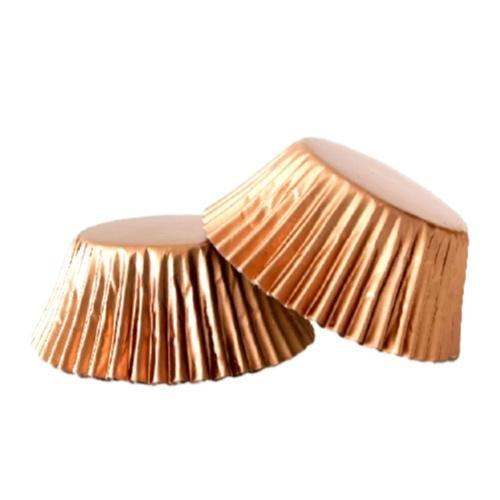 ROSE GOLD Foil Cupcake Papers 50pk