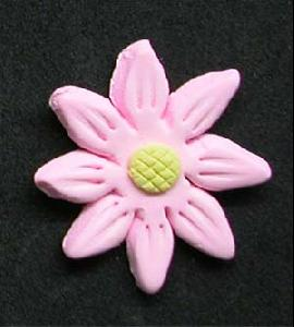 Daisy Cupcake Decorations PINK 10 Pack