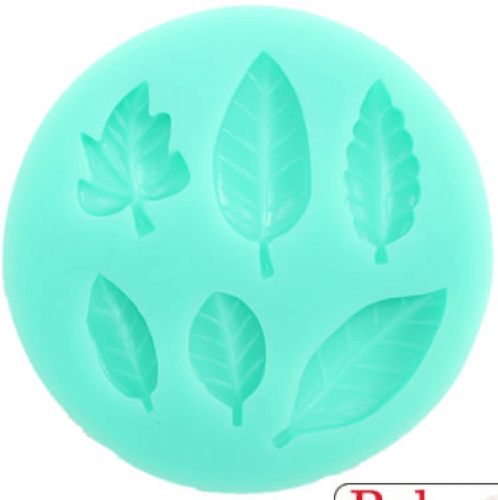 Silicone Mould LEAVES MIXED