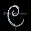 Letter C Bling Decoration 12cm