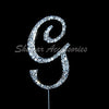 Letter G Bling Decoration 12cm