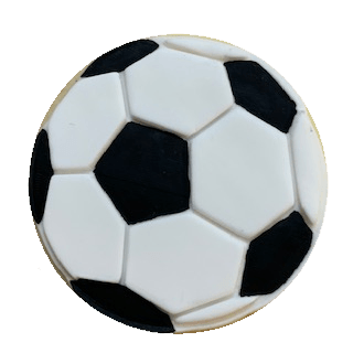 SOCCER BALL by COOKIE EMBOSSER