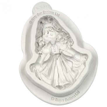 Katy Sue SUGAR BUTTONS PRINCESS Mould