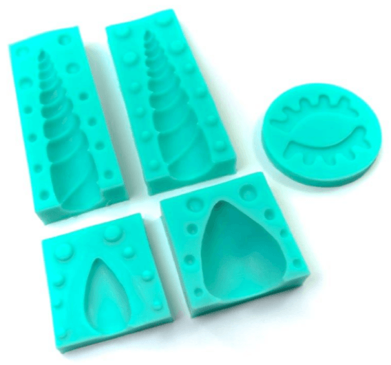 Silicone Mould UNICORN SET OF 5