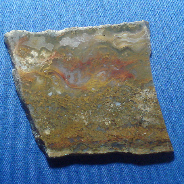 JASP-AGATE. Stone Canyon, California, USA. 7x60x60mm (L6)