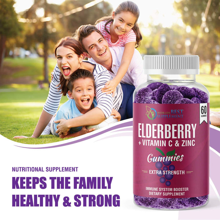 Elderberry Gummy