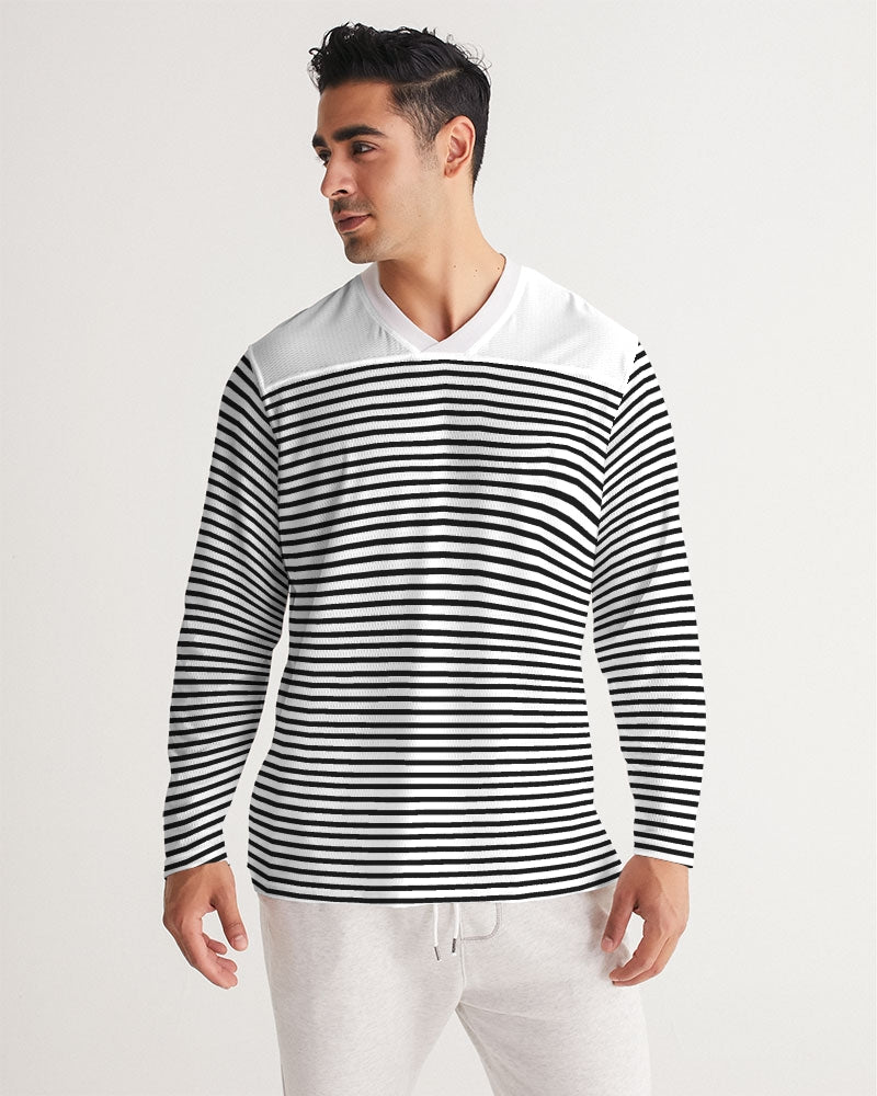 LANTAL | STRIPE Men's Long Sleeve Sports Jersey