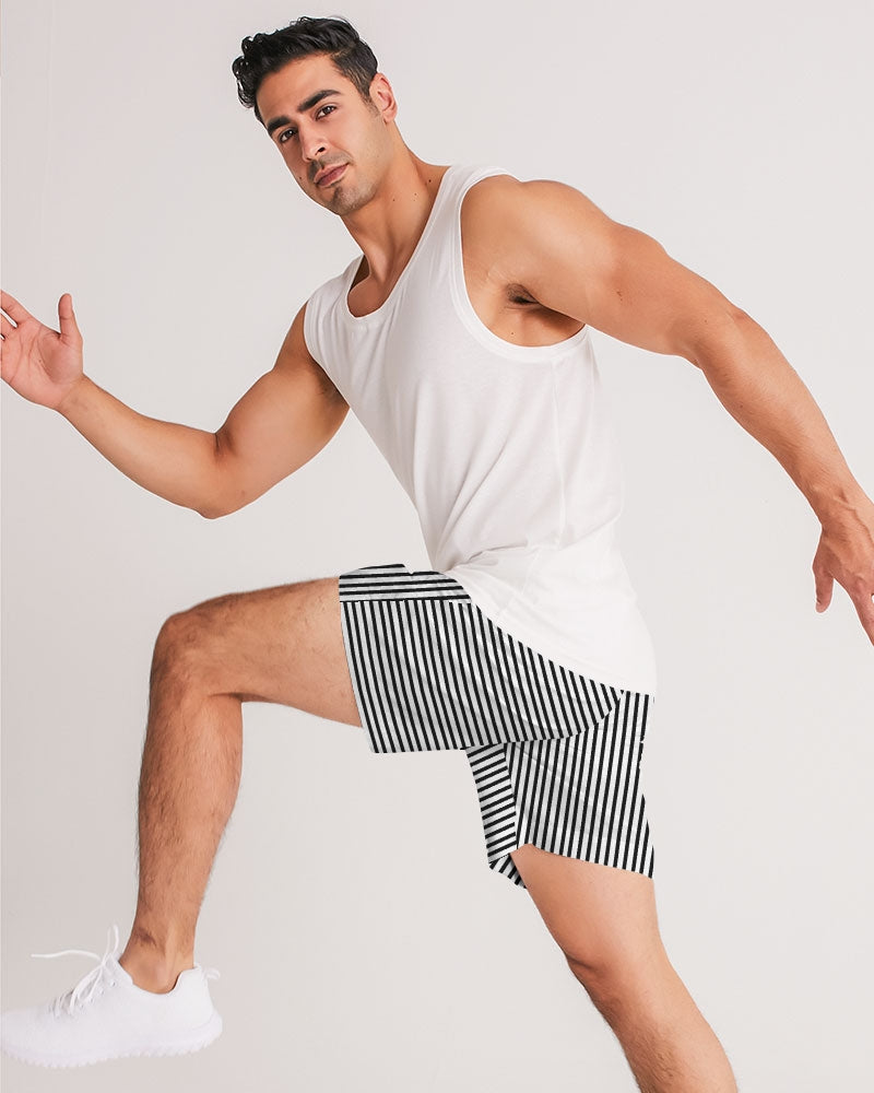 LANTAL | STRIPE JOGGER SHORT Men's Jogger Shorts