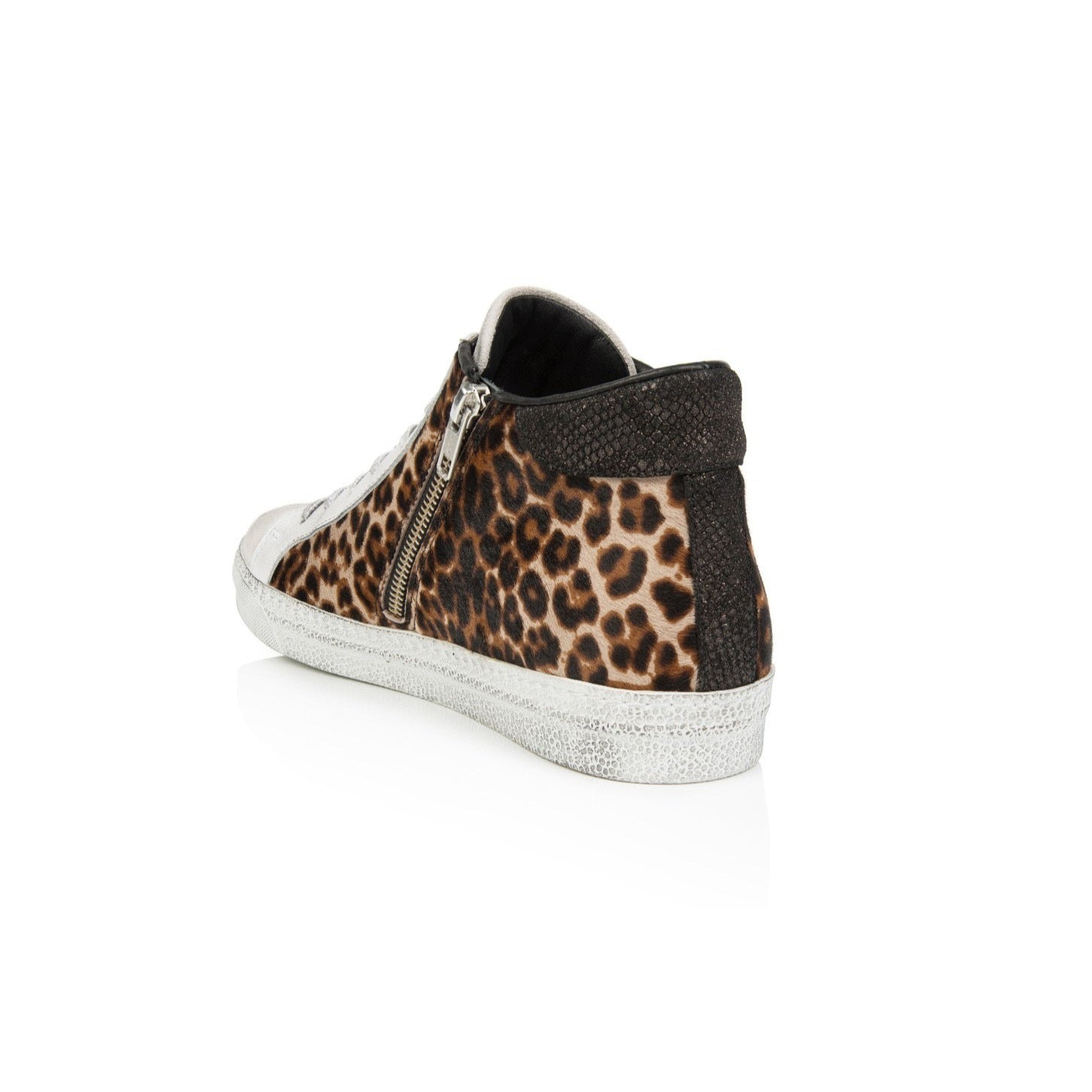 air and grace leopard trainers