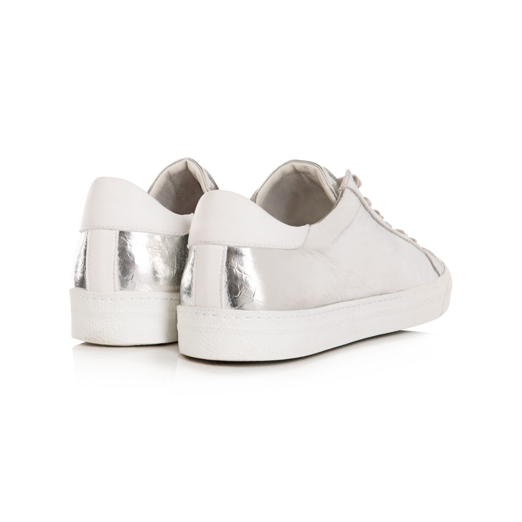 CRU: VEGAN SILVER TRAINERS - COMING SOON