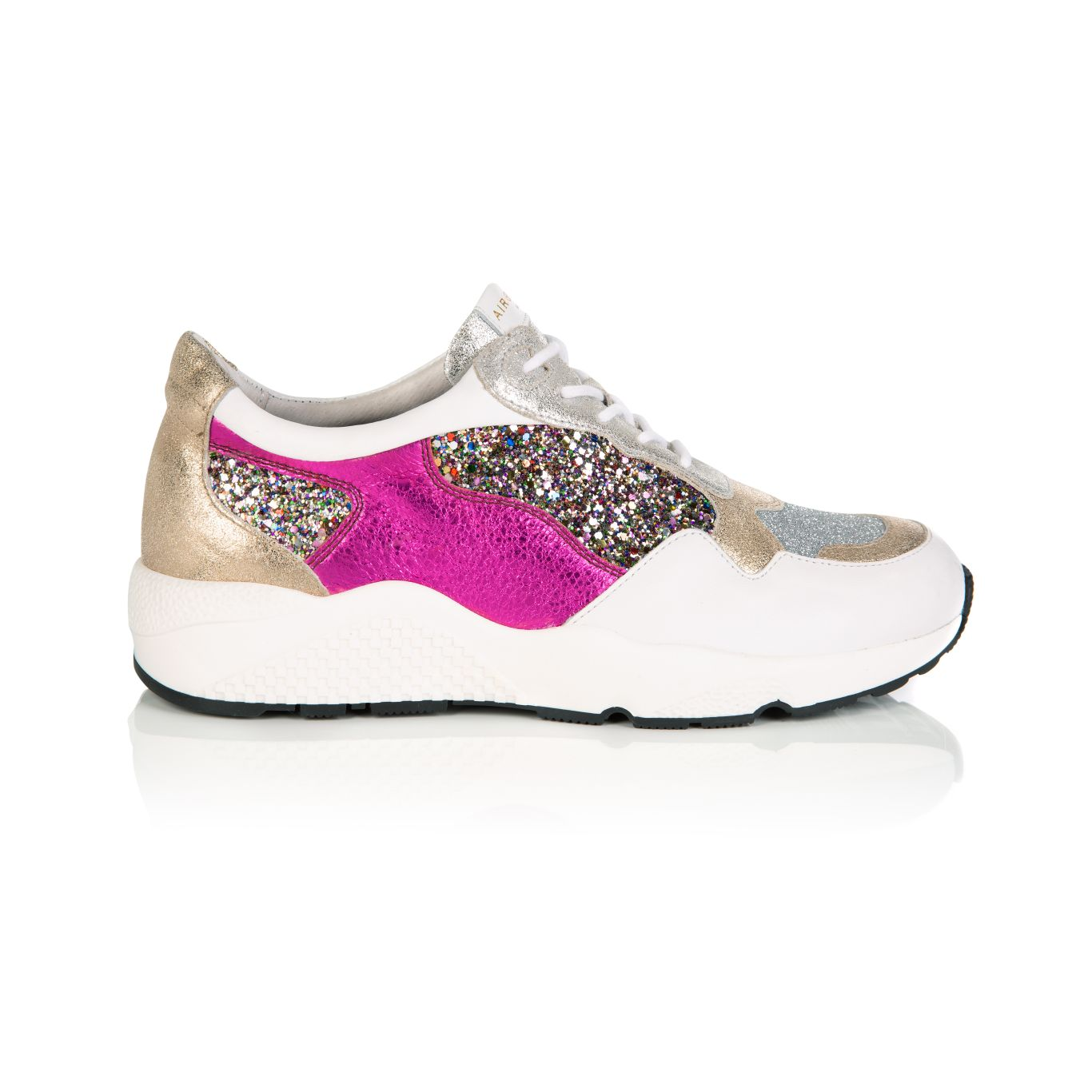 COSMIC: GOLD GLITTER TRAINERS