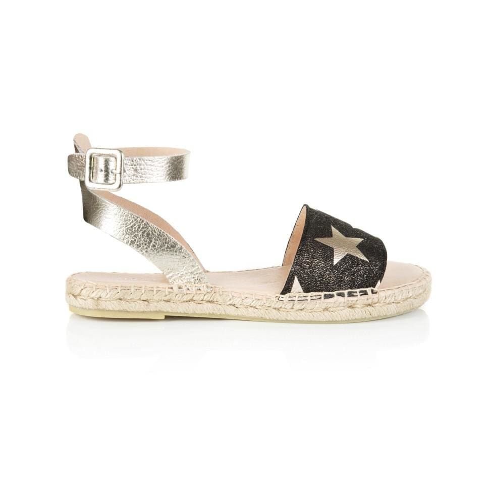 Air & Grace ALTEA: STAR PRINT SANDAL - Pre-Order (Dispatch W/C 3rd June)