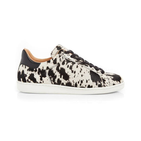 COPELAND: COW PRINT TRAINERS