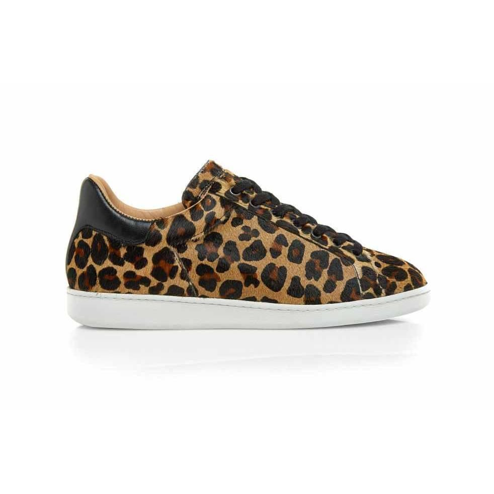 Air & Grace Copeland: Leopard Print Trainers