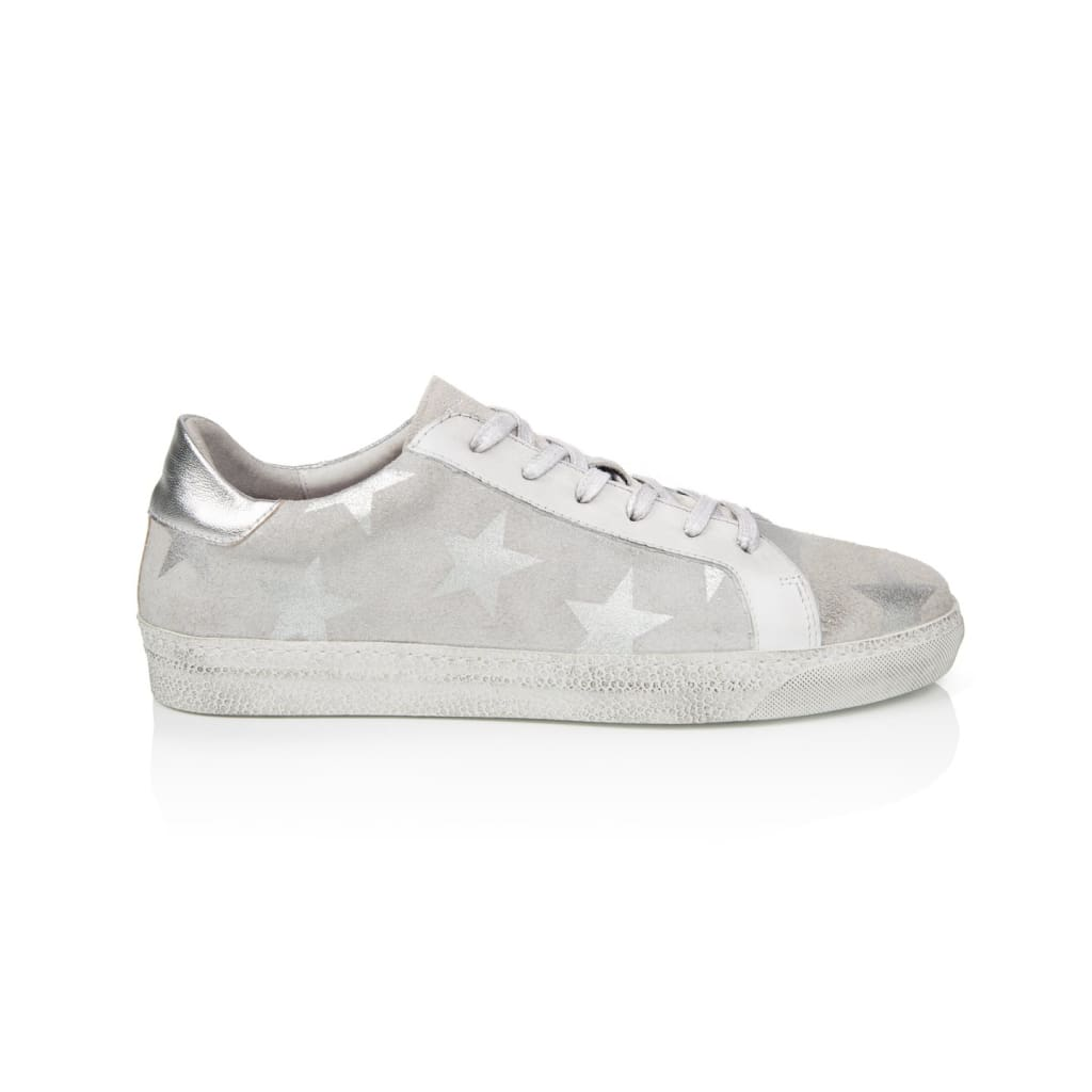 Air & Grace Cru: White Star Trainers
