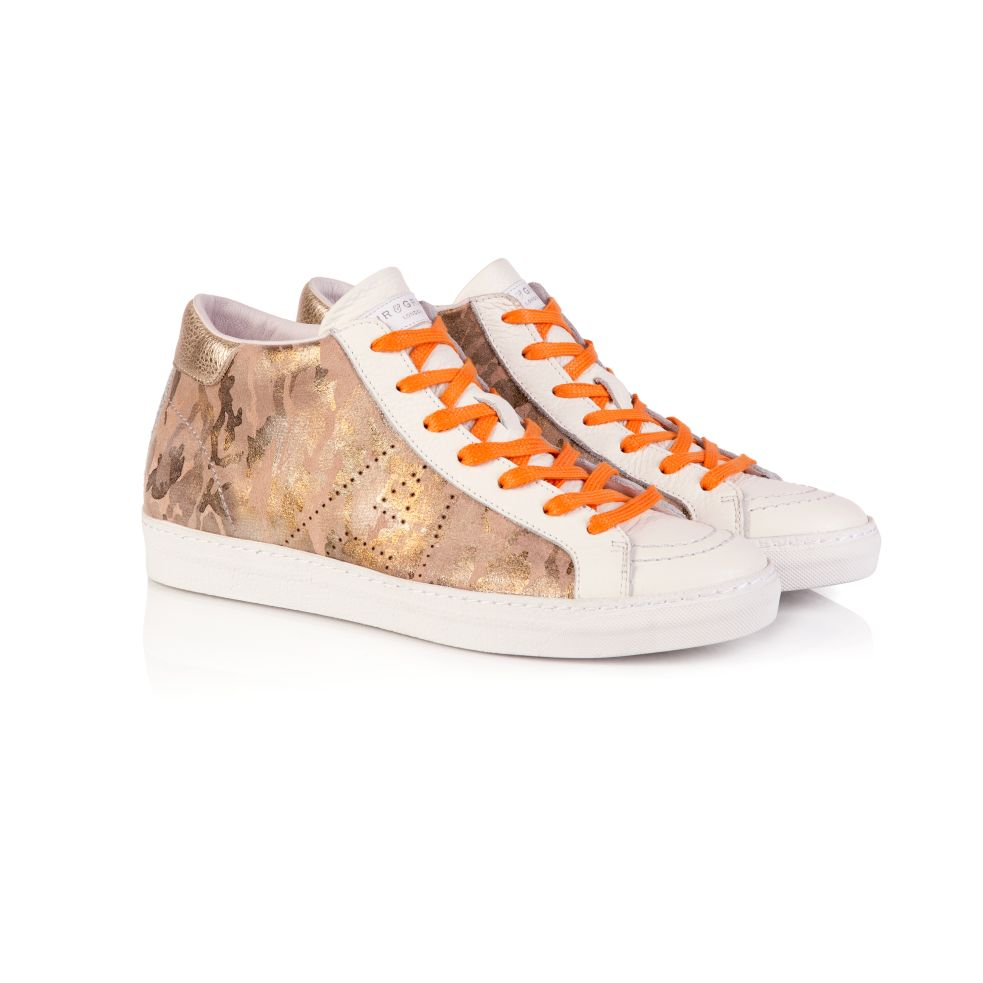 ALTO: KHAKI CAMO HIGH TOP TRAINER