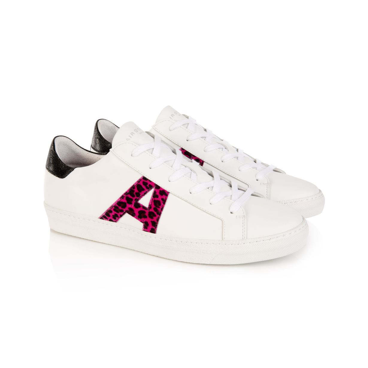 CRU SIGNATURE: VEGAN WHITE & PINK LEOPARD TRAINERS - COMING SOON