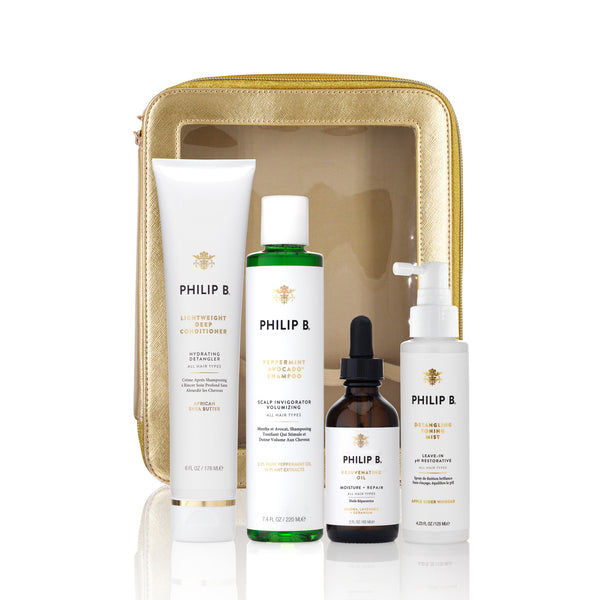 Four Step Hair + Scalp Treatment Set
