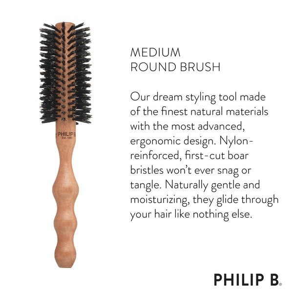 Medium (55mm) Round Hairbrush