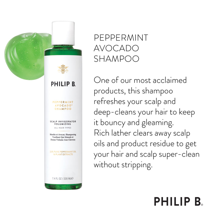 Peppermint Avocado Shampoo