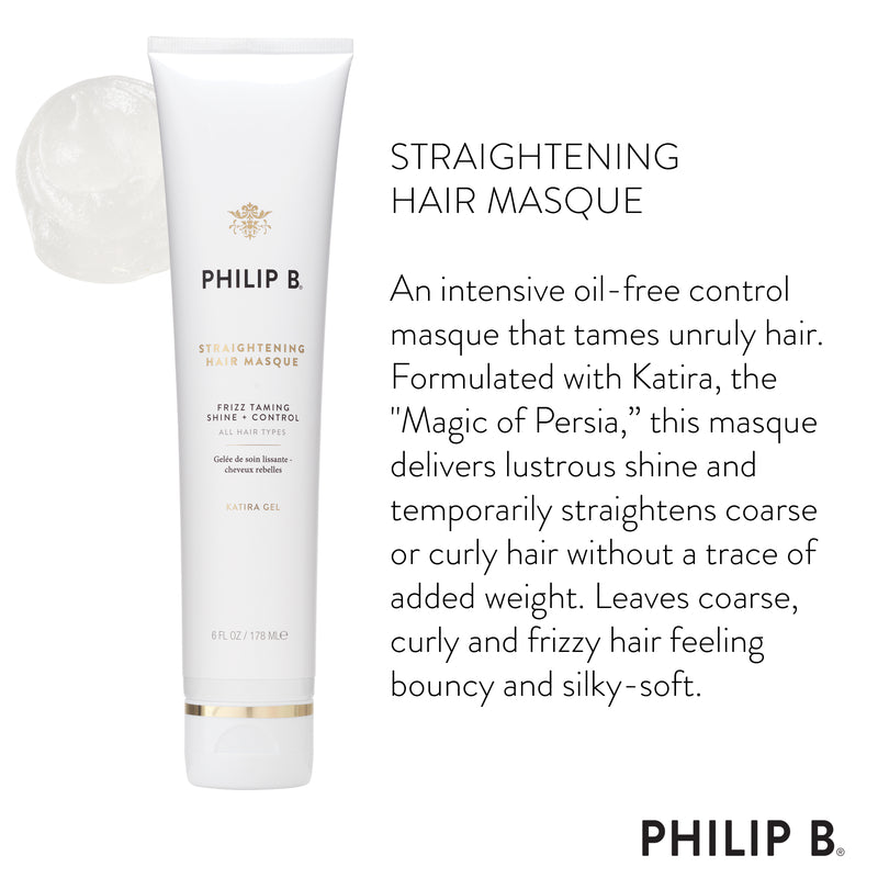 Straightening Hair Masque