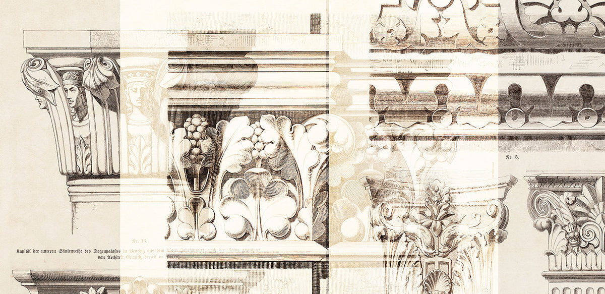 Drawings of Architectural Ornaments