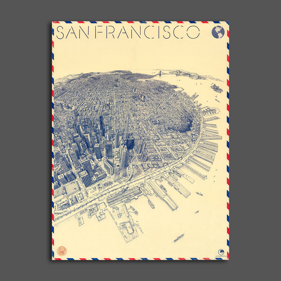 Map of San Francisco, 1982