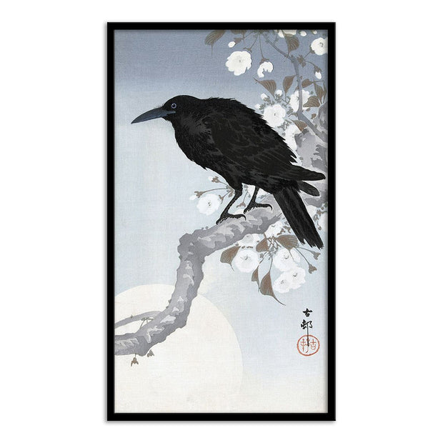 Crow at Full Moon, 1900-1930