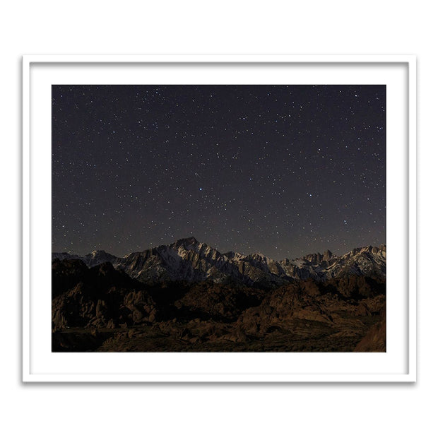 Mount Whitney Moon & Stars