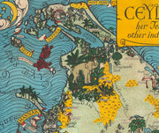Map of Ceylon [1933]