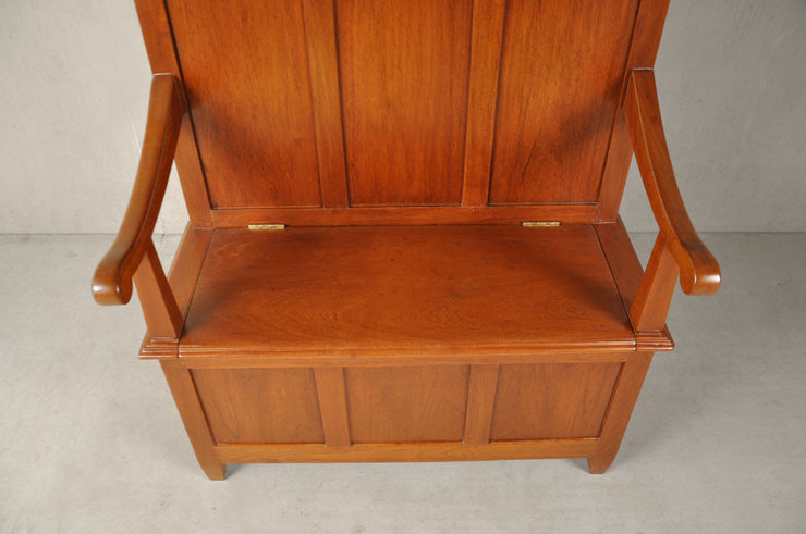 High Back Settle Bench