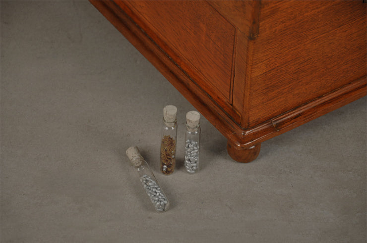 Homeopaths Chest of Vials