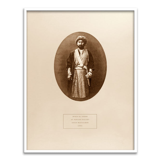 Mirza Ali Akbar - a Sheea Mussulman of Persian descent