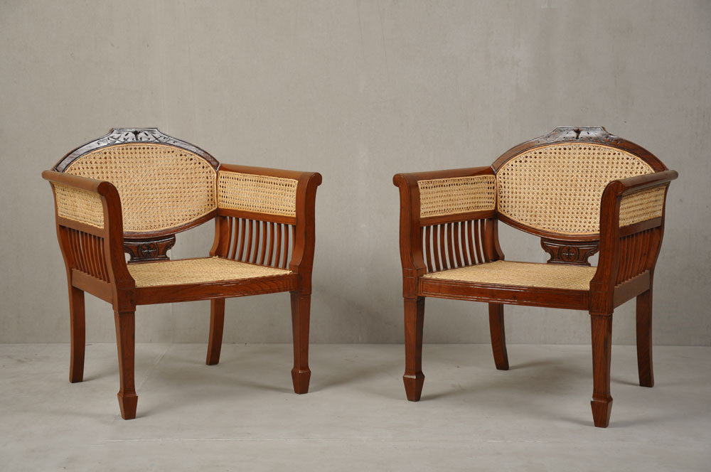 Pair of Colonial Chairs