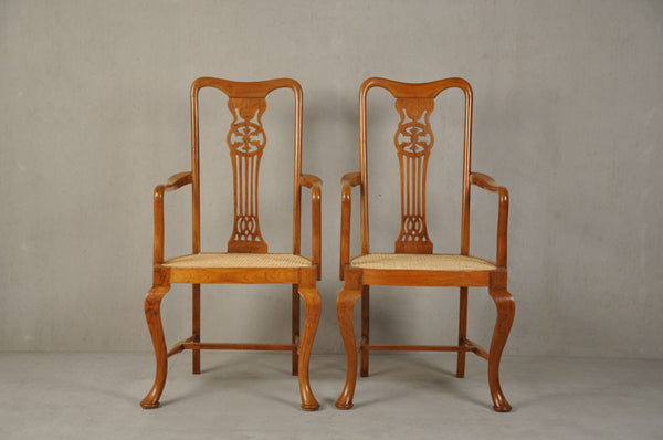 Pair of Chippendale Chairs