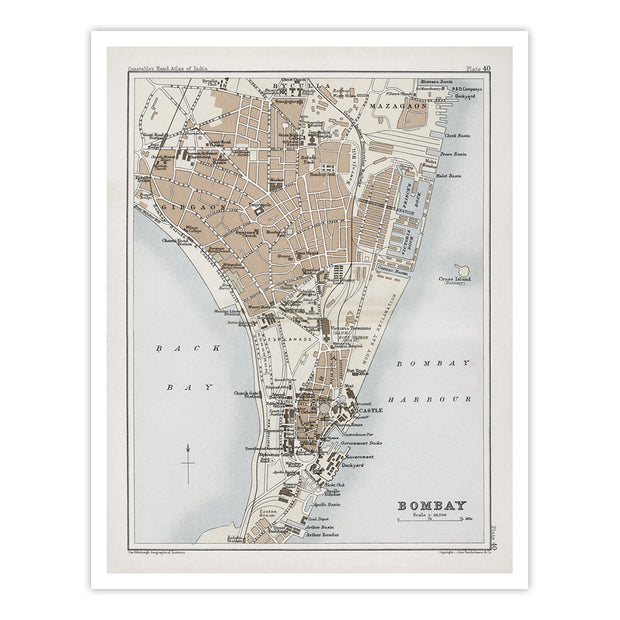 Map of Bombay [1893]