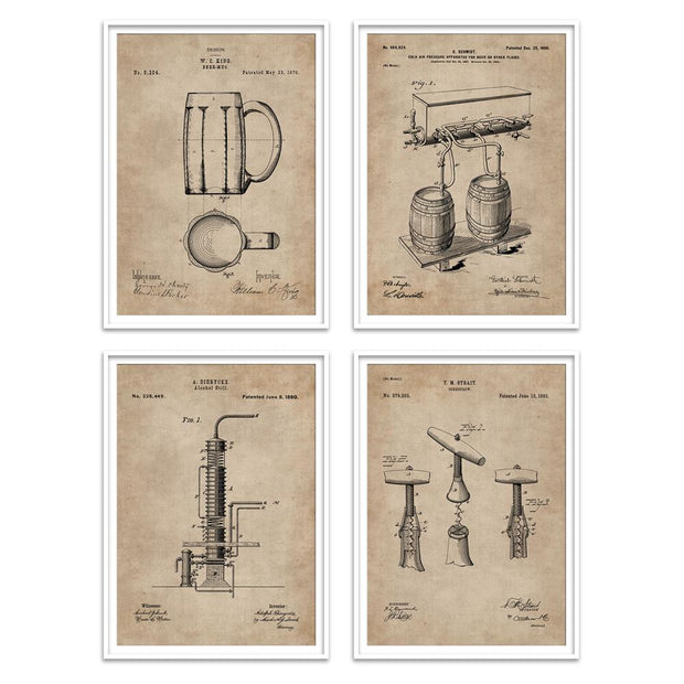 Bar Series - Bar Essentials (Set of 4)