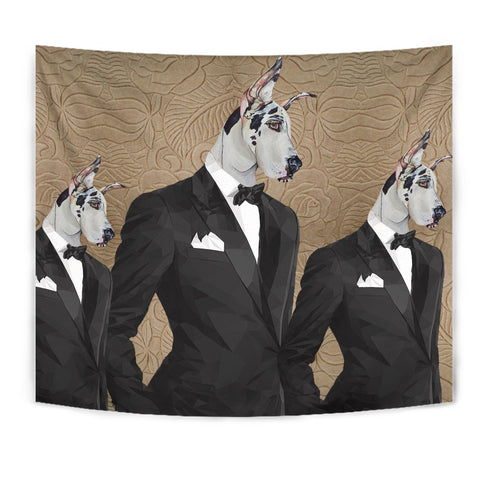 Amazing Great Dane Print Tapestry